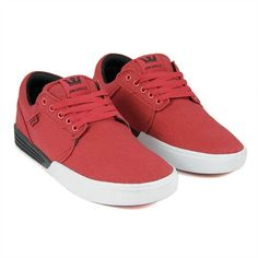 86659f02546 Supra Hammer Red Black White Mens Shoes only at Black Sheep skateboard shop  UK s finest independent Skate   Streetwear store.
