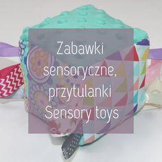 Zabawki sensoryczne, przytulanki, metkowce, sensory cube, cuddles Sensory Toys, Drink Sleeves