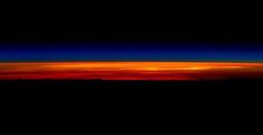 The breathtaking last sunrise Scott Kelly just snapped from space.