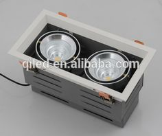 Factory recessed led 30W Comfortable light recessed Led Down light,no strobe COB LED grille downlights