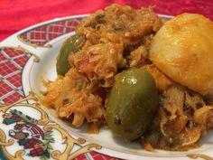 Les garantizo que esta es una de las recetas de bacalao a la vizcaina con nuestra versión mexicana, mas ricas que probarán en su vida.