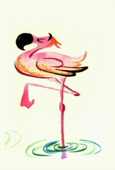 flamingo illustration - Szukaj w Google