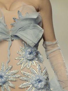 Christian Dior haute couture (détail)