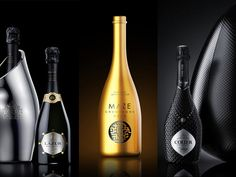 7 Gorgeous Champagne Packaging You Shouldn't Miss on Packaging of the World - Creative Package Design Gallery