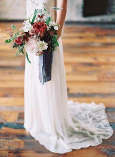 Wedding Ideas: Expert Designer Jessica Sloane on the Fate of Slate - MODwedding