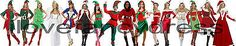 #Ladies #christmas costumes elf xmas tree mrs santa claus #angel s m l xl size 6-,  View more on the LINK: 	http://www.zeppy.io/product/gb/2/290807267493/