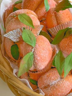 A beloved Italian family recipe for fabulous peach cookies! These are dipped in a peach flavored syrup and filled with a decadent vanilla pastry cream! Italian Peach Cookies Recipe, Italian Christmas Cookie Recipes, Holiday Bread, Italian Cookies, Christmas Baking, Baking Recipes, Cake Recipes, Snack Recipes, Dessert Recipes