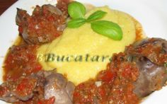 Retete Culinare - Ficatei cu sos de rosii si ardei