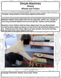 Simple machines- wheels and friction