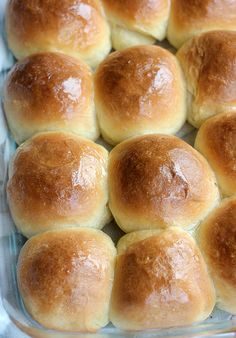 Soft Sour Cream Dinner Rolls with Cinnamon Butter