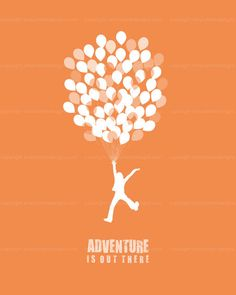 Adventure is Out There  Silhouette Art  by simplyfreshdesigns, $5.00
