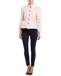 RED Valentino Pink Peplum Down Jacket is on Rue. Shop it now.