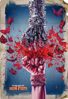 galería de pósters de 'The Man with the Iron Fists' « SALONDELMAL.com