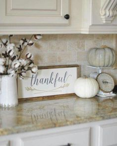 Nice 49 Stylish Fall Kitchen Design For Home Décor. Fall Home Decor, Autumn Home, Fall Kitchen Decor, Kitchen Colors, Fall Decor Signs, Kitchen Yellow, Neutral Kitchen, Fall Signs, Country Decor