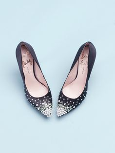 Do-It-Yourself: DIY Embellished Heels