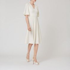 Rosie Fit and Flare Dress | Dresses | Clothing | Collections | L.K.Bennett, London