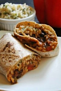 When I dreamed up this tasty concoction, I never imagined it would taste this good. Don't get me wrong, I expected a yummy burrito, but there is something about this combination of ingredients that just works. Not only does it work, it is beyond satisfying. Sometimes I'll have a vegetarian dish for dinner and feel...Read More »