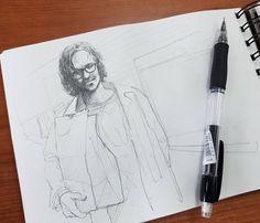 #drawing #illustration #portrait #sketch #pencil #sketchbook #art #artwork #painting #eskiz #topcreator #портрет #рисунок #карандаш #набросок #эскиз