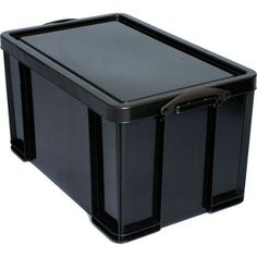 Really Useful 84L Box   Black