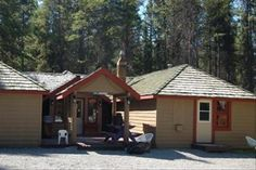 Get the best rate at HI Castle Mountain Wilderness Hostel off the Bow Valley Parkway in Banff National Park, Alberta. Banff National Park, National Parks, Hostel, Wilderness, Backpacking, Shed, Mountain, Canada, Outdoor Structures