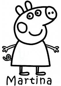 Free Printable Peppa Pig Coloring Pages For Kids Color This Online Pictures And Sheets A Book Of