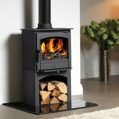 ACR Earlswood 5kw Defra Multifuel Stove With Log Store - £975.00 :