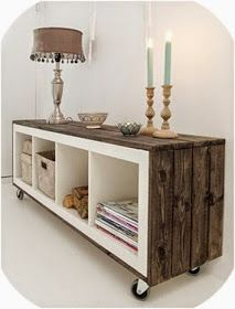 EXPEDIT Hacked with rustic whool & wheels