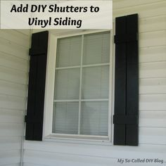 Find And Save Ideas About Diy Shutters