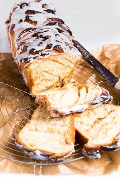 Thermomix Cinnamon bread. Perfect breakfast bread for the whole family.