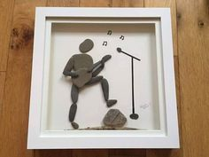 Stone Pictures Pebble Art, Stone Art, Stone Crafts, Rock Crafts, Dot Art Painting, Stone Painting, Pebble Art Family, Lake Art, Sea Crafts