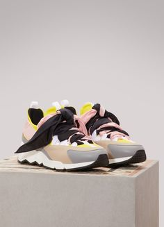 huge selection of 3f21b ae9e5 PIERRE HARDY Sneakers Pierre Hardy, Leather Sneakers, Contemporary Fashion,  Fashion Design, Shoes