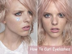 How to Curl Eyelashes Correctly  #beauty #makeup