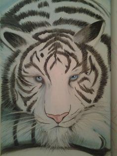 J avou....de tout ce que j ai pu dessiner et peindre depuis le commencement.....c est mon préféré! Et de loin!! Tout le monde le trouve magnifique. En tout cas....moi qui clame que peindre des animaux....c'est ma bete noir car trop difficile....bein je maintiens mais celui ci il ma donné envie de continuer...!