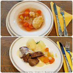 Norwegian Food, Pot Roast, Mashed Potatoes, Meat, Ethnic Recipes, Carne Asada, Whipped Potatoes, Roast Beef, Smash Potatoes