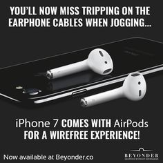 Like running with your #iPhone? Well, the #iPhone7 #AirPods are the best thing you can ask for. Check this for more http://beyonder.co/apple?-auav9&SocialMedia&SocialPilot&utm_content=social-s07ij&utm_medium=social&utm_source=SocialMedia&utm_campaign=SocialPilot