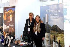 Con Ana Lopezcano de Bodegas Muga... en el #DWCC