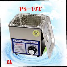 88.91$  Watch now - http://alihey.worldwells.pw/go.php?t=32692412693 - 2PC110V/220V PS-10T 70W 2L Ultrasonic cleaning machines circuit board parts laboratory cleaner/electronic products etc 88.91$