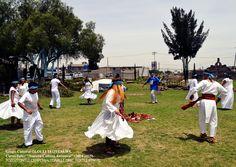 """Ceremonia de QUIAHUIMITOTILIZTLI """"Danza de la lluvia"""" año OME TOCHTLI."""