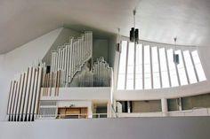 Alvar Aalto: Vuoksenniska Church, Finland, 1958