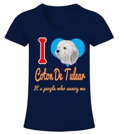 """# I'm In Love With Coton De Tulear .  HOW TO ORDER:1. Select the style and color you want2. Click """"Buy it now""""3. Select size and quantity4. Enter shipping and billing information5. Done! Simple as that!TIPS: Buy 2 or more to save shipping cost!This is printable if you purchase only one piece. so don't worry, you will get yours.Guaranteed safe and secure checkout via: Paypal 