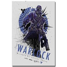 Lawrence Painting Shooting Game Destiny Art Canvas Poster Print Home Bedroom Decor Hunter Warlock Titan 15 -- For more information, visit image link.