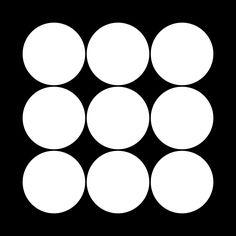 角九曜 かくくよう Kaku kuyou The design of 9 planet.