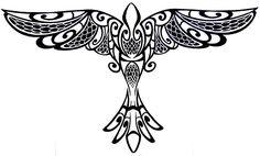 Tribal Bird Tattoo by HawaiianDragon on DeviantArt