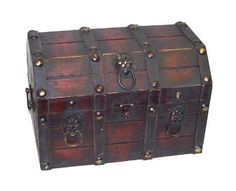 Pirate nursery has to have a treasure chest!