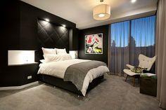 The Block 2014 Steve & Chantelle Master bedroom...I like the chair
