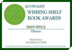 Received our certificate for the Wishing Shelf Children's Book Award. Odysseus was a finalist!