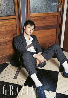 U-Kwon (Block B) - Grazia Magazine March Issue '17
