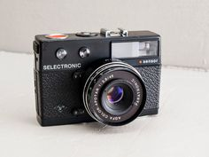 Agfa Selectronic Sensor - functional vintage 35mm compact camera, 45mm f:2.8, german camera with shutter speeds up to 15 seconds!