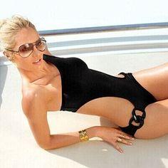 Sexy lace up one piece swimwear swimsuit bathing suit for women hollow out monokini bodysuit maillot de bain LT123
