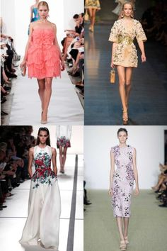 28 bridesmaid dress inspirations from the spring/summer '14 shows